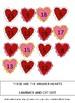 Valentine's Day Math Workshop Sequencing File Folder Game