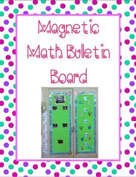 Math Workshop: Station Bulletin Board