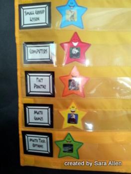 Math Workshop Station Labels