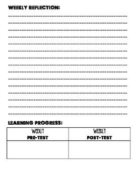 Math Workshop Student Portfolio
