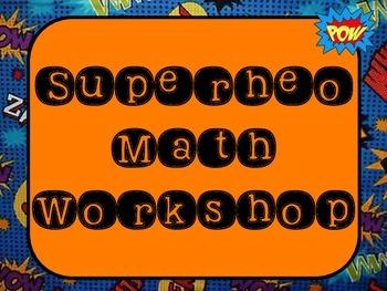 Math Workshop- Super Hero
