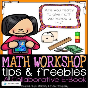 Math Workshop Tips and Freebies E-book (FREE)