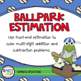 Ballpark Estimation {Task Cards}