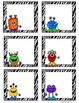 Math Workstation Cards- Monsters (Freebie)