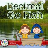 Decimal Go Fish {Math Workstation}