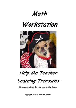 Kindergarten Math Workstation - Full School Year - Help Me Teacher