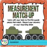 Measurement Match Up {Math Workstation}