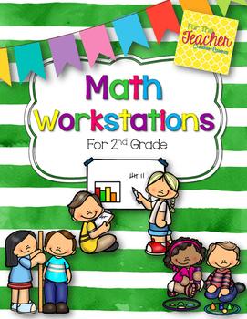 Math Workstations {CCSS} 2nd Grade