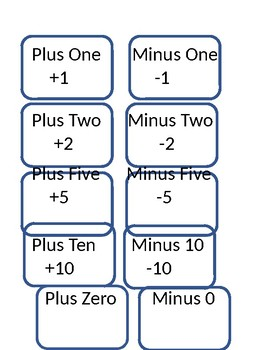 Math Workstations to Use with Dice, Deck of Cards, or 3 X 5 number cards