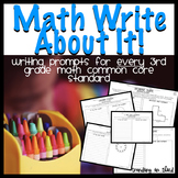 Math Write About It - Aligned with the Common Core