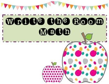 Math Write the Room!
