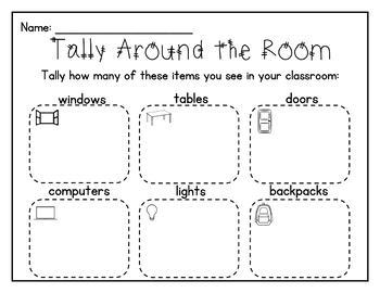 Math Write-the-Room Activities