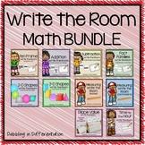 Math Write the Room Bundle