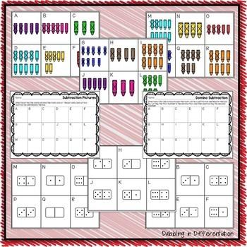 Math Write the Room Activities Bundle