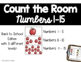Math Write the Room Center Back to School Edition