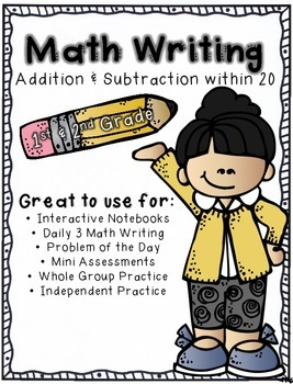 Math Writing (Addition and Subtraction within 20)