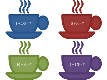 Math Writing Center: Dividing Fractions - #CoffeeQuotients