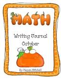 Math Writing Journal October