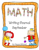 Math Writing Journal-September