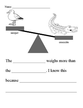 Math Writing (Measurement)
