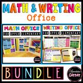 Math & Writing Office Bundle