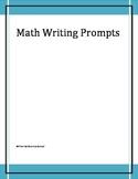 Math Writing Prompts