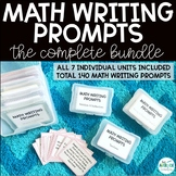 Math Writing Prompts BUNDLE