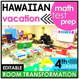 4th Grade End of Year Math Review  | Hawaii Room Transformation
