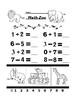 Math Zoo Addition and Subtraction 4