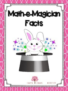 Math-e-Magician Facts (Activity, Worksheets, and Craft)