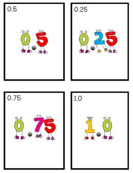 Math-a-Palooza (decimals, fractions, percents)