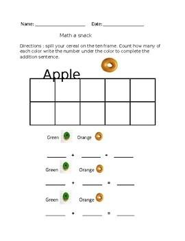 Math a Snack