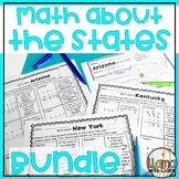 Math about All 50 States Bundle