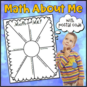 """Math about Me 2 (with """"Postal Code"""")"""