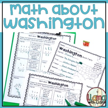 Math about Washington State Symbols