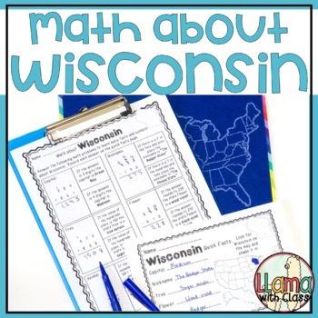 Math about Wisconsin State Symbols