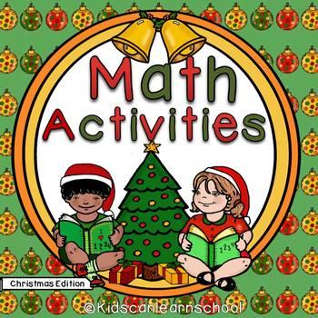 Math activities- Christmas Edition