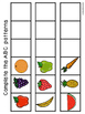 Math Workstations-Numbers, patterns -Food Edition