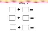 Math adding and Subtracting blocks