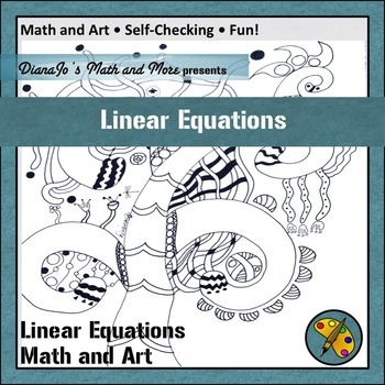 Math and Art - Linear Equations Worksheet