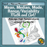 Math and Art - Mean, Median, Mode, Range/Variability