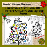 Christmas Math and Art! Perfect Squares and Square Roots