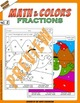 Math and Colors – 002 – Fractions - 2nd grade - Common Cor