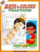Math and Colors – 004 – Fractions - 2nd grade - Common Cor