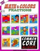 Math and Colors – 004 – Fractions - 4th grade - Common Cor