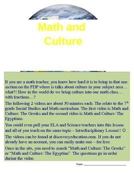 Math and Culture 2