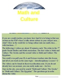 Math and Culture 2