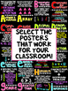 Math and ELA Alphabet Posters (Science Posters NOW Included)