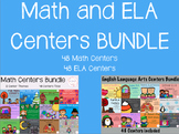 Math and ELA Centers BUNDLE