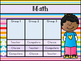 Math and ELA / Literacy Centers / Small Group Rotation Boards